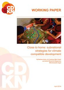 Subnational Strategies for climate Compatible Development